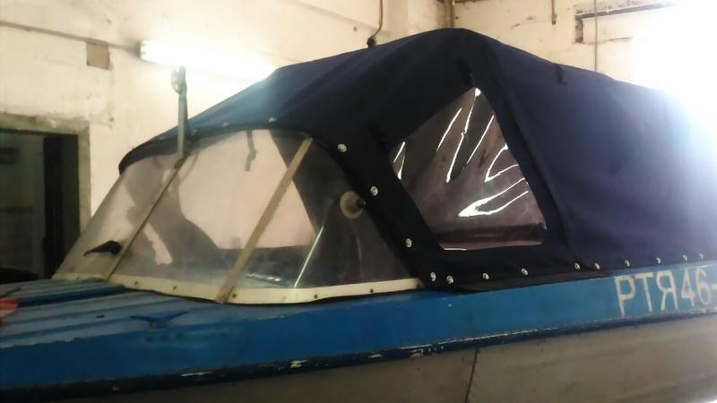 Пленка прозрачная оконная для ходового тента лодки