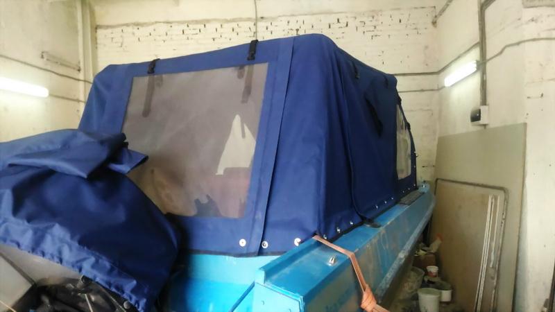 Пленка прозрачная ПВХ для тента ходового на лодку