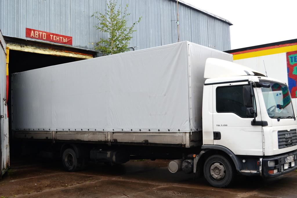 Ткань-ПВХ для тента грузовика Man
