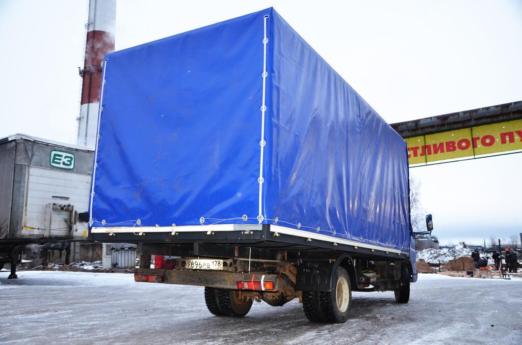 Синяя ткань-ПВХ Proftent 630 для грузового тента на автомобиль Foton